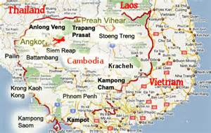 Google Cambodia Map