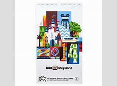 Your WDW Store Disney Poster Calendar 2014 Walt Disney