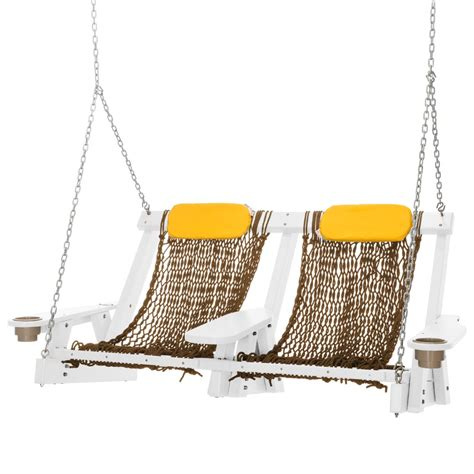 rope swing white durawood deluxe rope swing nags hammocks