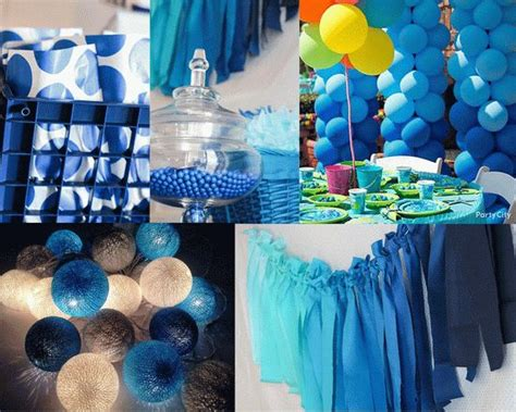 And Blue Birthday Decorations - cobalt blue decorations ideas