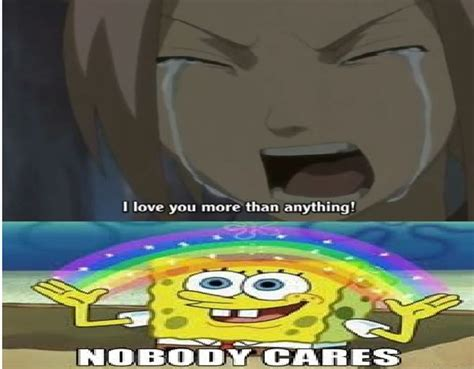 No One Cares Spongebob Meme - spongebob memes funny spongebob squarepants face pictures