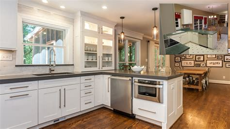kitchen rehab ideas home remodeling a great before after homes