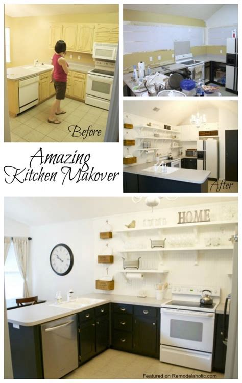 Remodelaholic   Kitchen Remodel, Removing Upper Cabinets