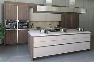Küchen Modern Mit Kochinsel : rotpunkt musterk che designerk che mit kochinsel grifflos beige matt laminat ~ Sanjose-hotels-ca.com Haus und Dekorationen