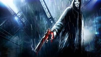 Anonymus Wallpapers Vendetta Hacker Computer Resolution 4k
