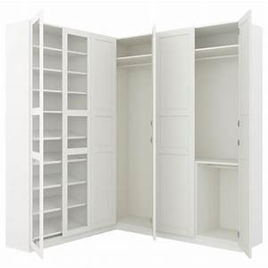 Ikea Pax Eckschrank : pax corner wardrobe white tyssedal tyssedal glass 210 188x236 cm ikea ~ Eleganceandgraceweddings.com Haus und Dekorationen