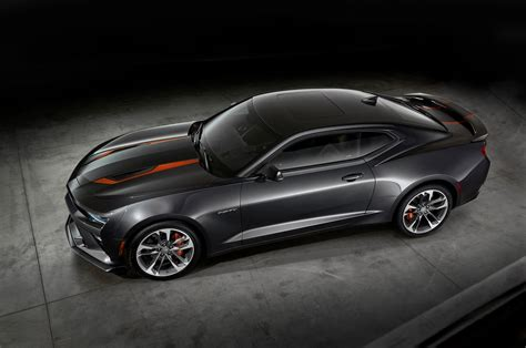 2017 Chevrolet Camaro 50th Anniversary Edition Announced