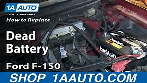 How To Replace Dead Battery 04-11 Ford F-150