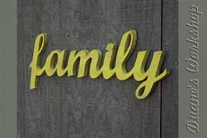 family sign diy wedding decoration wall hanging cottage With family wooden wall letters