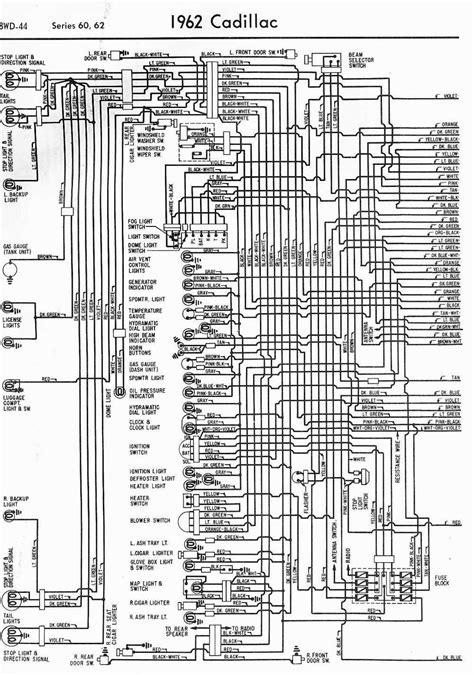 Wiring Diagrams Cadillac Series Part