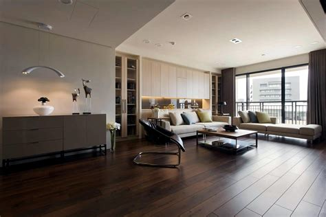 Apartment With A Retractable Inner Wall  Interior Design
