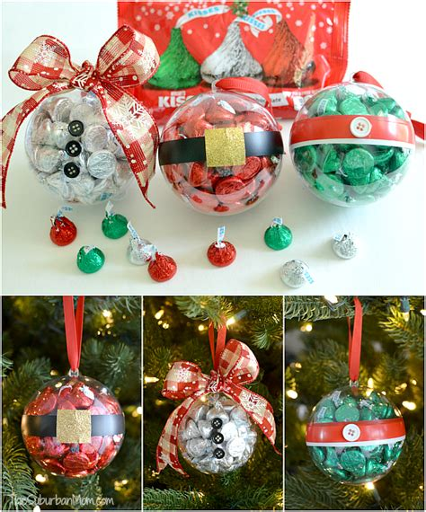 easy handmade christmas gifts for coworkers diy ornaments with hershey s kisses holidays crafts recipes decor and