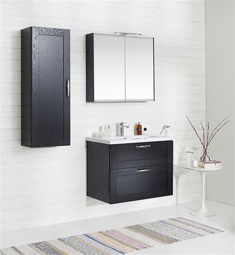 Badezimmer Spiegelschrank Schwarz by Miller 80 Black Door Mirror Cabinet 790 X