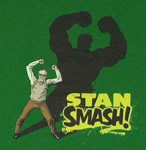 Stan Lee Hulk Smash T Shirt