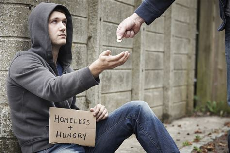 does a handout to the homeless help or hurt addiction