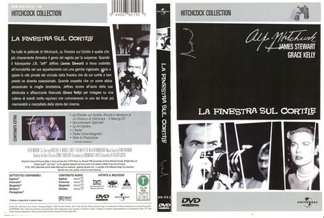 la finestra sul cortile dvd e vhs rear windows alfred hitchcock