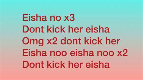 elisha  lyrics eisha ftgutta disstrack mp  mb