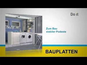 Do It Bauplatten : do it bauplatten youtube ~ A.2002-acura-tl-radio.info Haus und Dekorationen