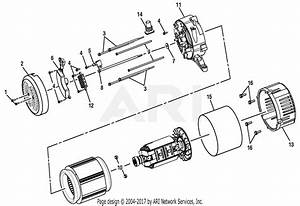 Homelite Ps905055sa Powerstroke 5 000 Watt Generator Parts Diagram For Figure A