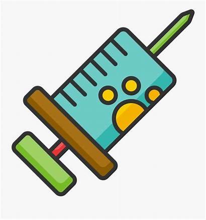 Vaccine Cartoon Shot Clipart Pet Transparent Icon