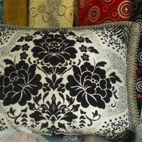 housse de canapé marocain housse de coussin marocaine en noir et blanc salon marocain