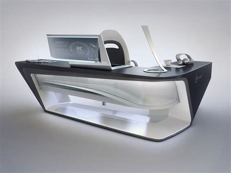 Encho Enchev - Modern desk design