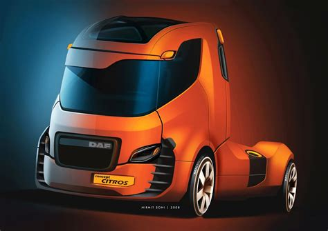 Future Truck Concepts by Is This How Future Daf Trucks Will Look Like Custom Big