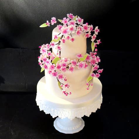 cherry blossom cherry blossom wedidng cakes