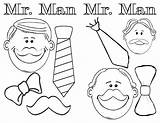 Coloring Mustache Mister Printable Colouring Crafts Enjoy Window Peachy sketch template
