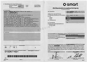 Certificat De Conformité Mercedes : certificat de conformit smart coc certificat de conformit europ en smart car 39 s certif ~ Gottalentnigeria.com Avis de Voitures