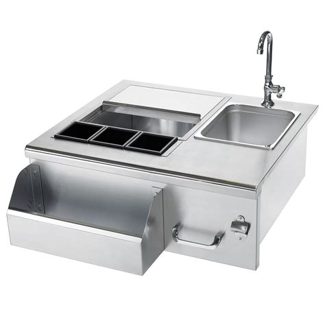 sinks for outdoor kitchens summerset beverage center with sink stainless steel 5291