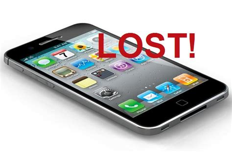 iphone lost lost iphone help