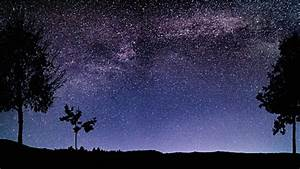 Beautiful Night Sky Milky Way Stars Time Lapse 4k Stock ...