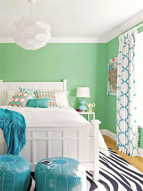 Bright Wall Colors  How To Apply Them Effectively