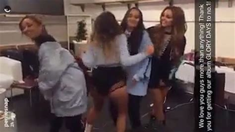 We do have our own opinions after all. Little Mixers hug SINGLE Jesy Nelson as Perrie Edwards ...