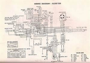 R4l  Xl350 Wiring Diagram  And Xl250