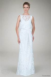 tadashi shoji wedding dresses 2012 wedding inspirasi With blouson wedding dress