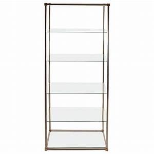 Vitrine Metall Glas : aluminum brass and glass etagere vitrine by vesey for sale at 1stdibs ~ Whattoseeinmadrid.com Haus und Dekorationen