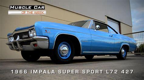 muscle car   week video   chevrolet impala