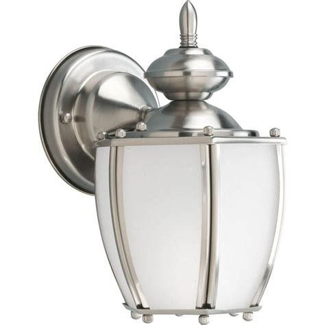 progress lighting coach collection brushed nickel