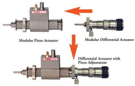 Modular Piezoelectric Actuators