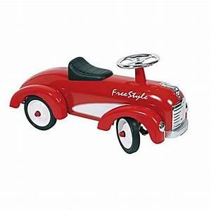 Voiture Porteur Bébé : porteur voiture ancienne rouge ~ Teatrodelosmanantiales.com Idées de Décoration