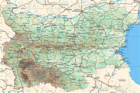 maps  bulgaria map library maps   world