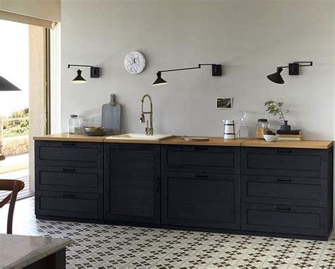 meuble cuisine noir une cuisine déco à composer