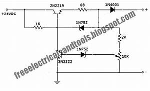 Free Schematic Diagram  Auto Off 12v Nicad Battery Charger