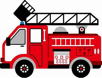 Fire Truck Clipart Firefighter Clip Engine Vehicle