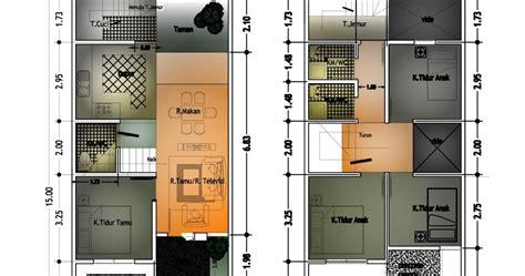 desain gambar denah rumah minimalis sederhana  aga kewl