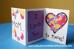 mothers day cards ideas 20 homemade toddler valentines i heart arts n crafts