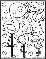 Coloring Pond Valentine Printable Teich Dem Aus Sheets Colouring Dibujos Mandala Spring Books Flamingo Library Malvorlagen Ausmalbilder Coloriage Desenhos Fromthepond sketch template