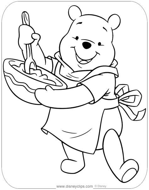 winnie  pooh coloring pages disneys world  wonders